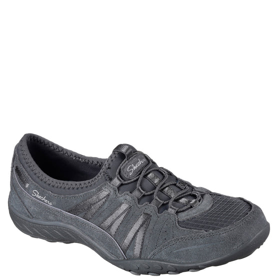 Skechers Women's Relaxed Fit: Breathe Easy - Money Bags - Charcoal 23020