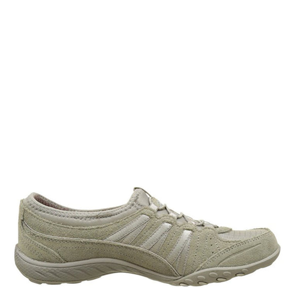 Skechers Women's Relaxed Fit: Breathe Easy - Money Bags - Taupe 23020