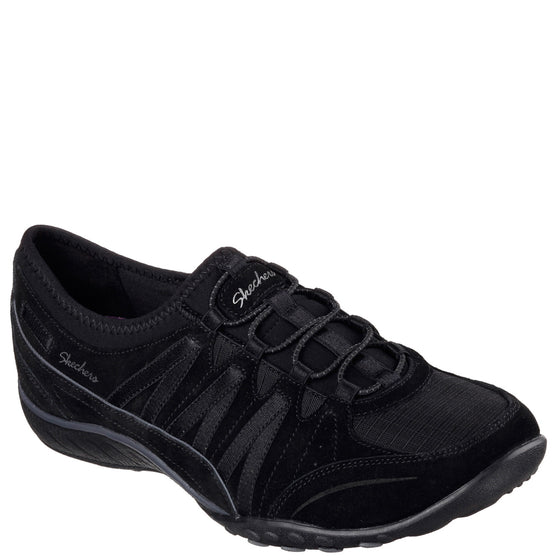 Skechers Women's Relaxed Fit: Breathe Easy - Money Bags - Black 23020