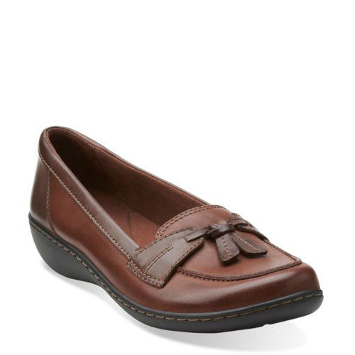 Clarks Women's Ashland Bubble - Brown 26067330 - ShoeShackOnline