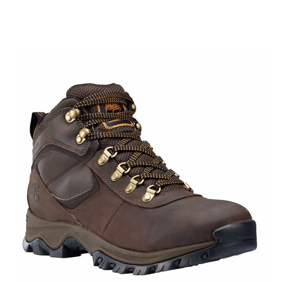 Timberland Pro Men's Mt. Maddsen Mid Waterproof Hiking Boots - Dark Brown 2730R - ShoeShackOnline