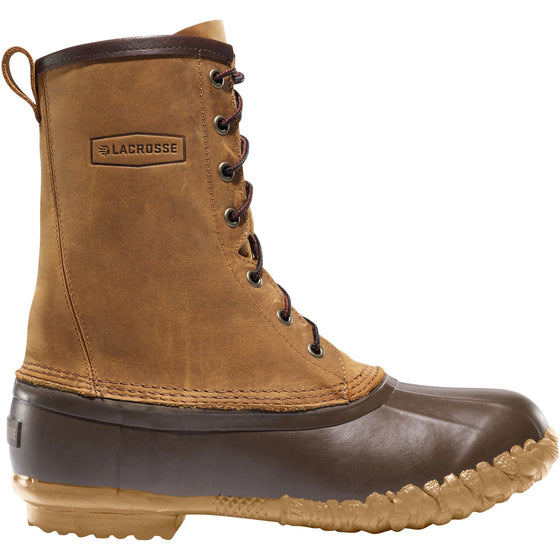 "Lacrosse Men's - Uplander 10"" Brown - 273122 - ShoeShackOnline"