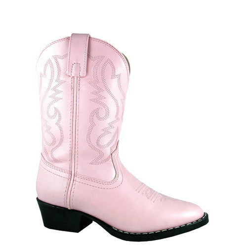Smoky Mountain Kid's Denver Western Boots - Pink 3031C - ShoeShackOnline