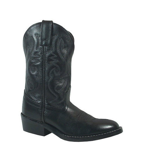 Smoky Mountain Toddler's Denver Western Boots - Black 3032T - ShoeShackOnline