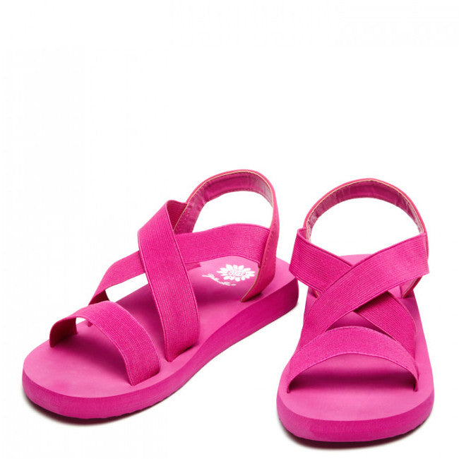 Yellow Box Girl's Bunkie II Sandal in Pink 32791 - ShoeShackOnline