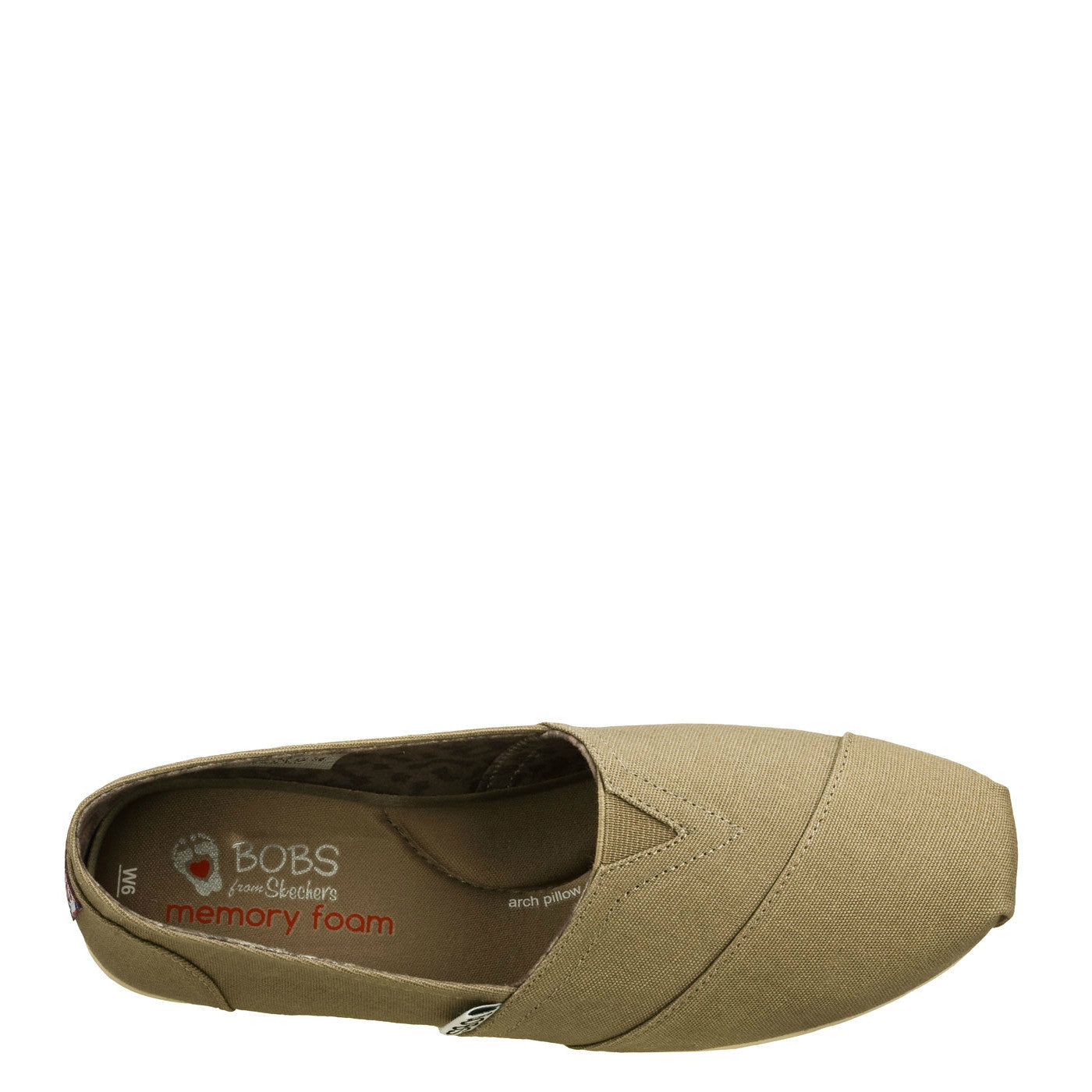 Skechers Womens Bobs Plush Peace Love Taupe 33645 TPE