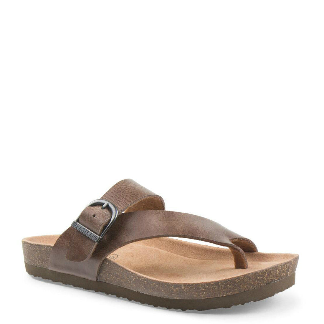 Eastland Women's Shauna Adjustable Thong Sandal - Natural 3402-08M - ShoeShackOnline