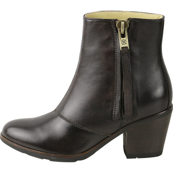 Bussola Women's Reikiavik Zip Mid-High Boots - ShoeShackOnline