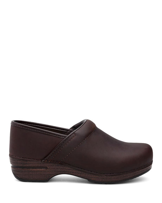 Dansko Women's Professional XP Clog - Brown Oil 3912787878