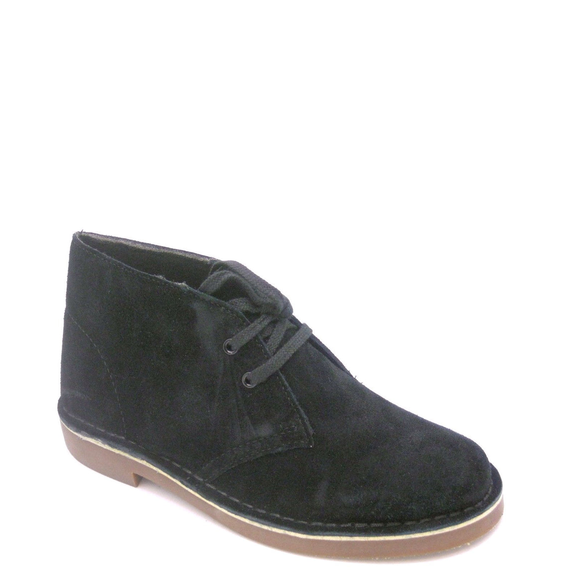 Clarks Women's Acre Bridge Suede Ankle Boot - Black 39851 - ShoeShackOnline