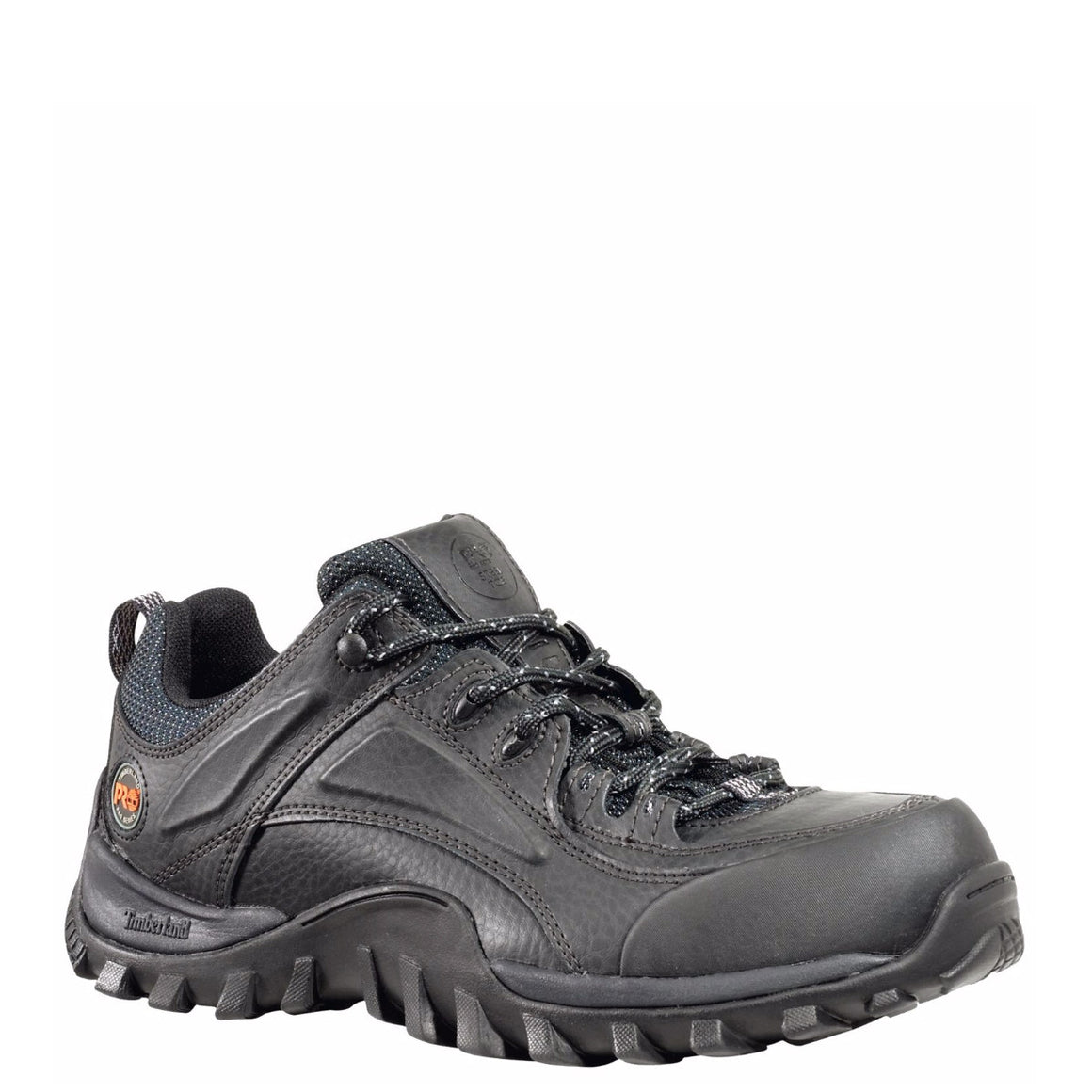 Timberland Pro Men's Mudsill Steel Toe Work Shoes - Black 40008 - ShoeShackOnline