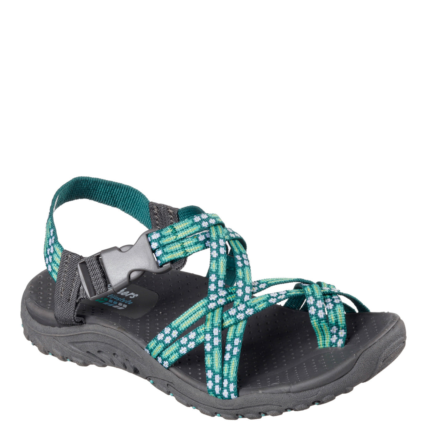 Skechers Women's Reggae Loopy Sandal - Mint 40875 ...