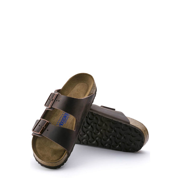 Birkenstock Arizona Soft Footbed - Habana | Oiled Leather 452761 - ShoeShackOnline