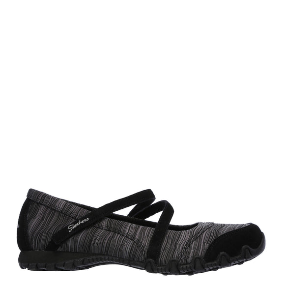 Skechers Women's Relaxed Fit: Bikers - Ripples - Black 49343