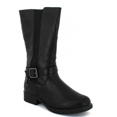 Pierre Dumas Girl's Riley-3 Riding Boots - Black 49909-101