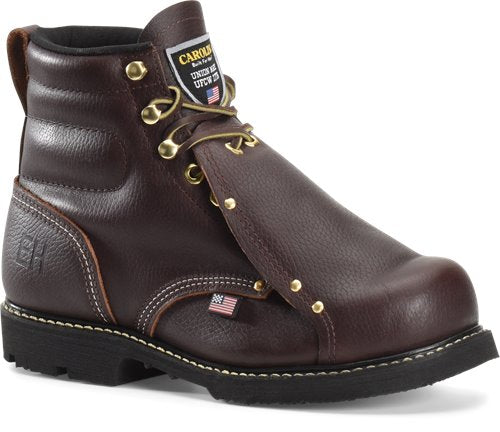 "Carolina Men's 6"" Domestic Broad Toe Metguard Work Boot - 508 - ShoeShackOnline"