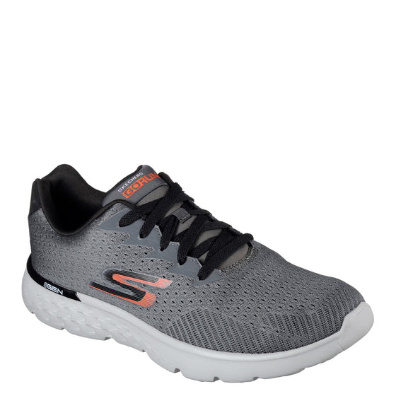 Skechers Men's Go Run 400 - Generate - Charcoal/Orange 54354