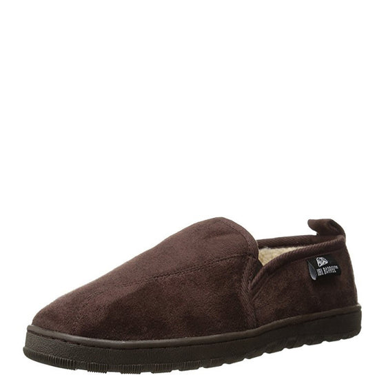 Double Barrel Men's Fleece Lined Slipper - Brown 5791802