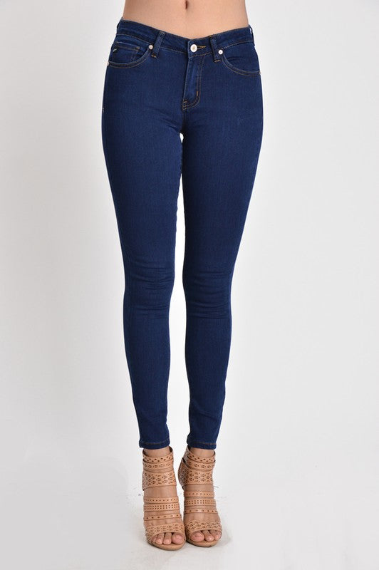 Women's Kan Can Mid Rise Super Skinny Jeans KC5003QD