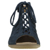 Earth Women's Kristen Peep Toe Sandal - Navy 602269WBCK