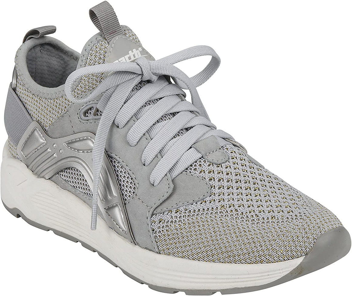 Earth Women's Gallivant Tennis Shoe - Silver Fabric 602391WFAB