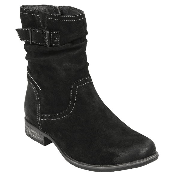 Earth Women's Beaufort Slouch Boot - Black 602561