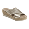 Earth Women's Marigold Slide Sandal - Gold 602809WMET
