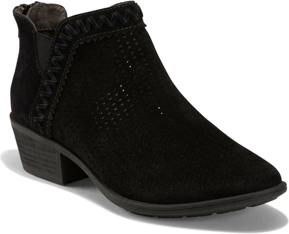 Earth Women's Peak Perry Ankle Bootie - Black 603021WSDE