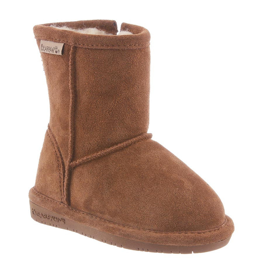 Bearpaw Toddler Emma Zipper Boot - Hickory 608TZ - ShoeShackOnline