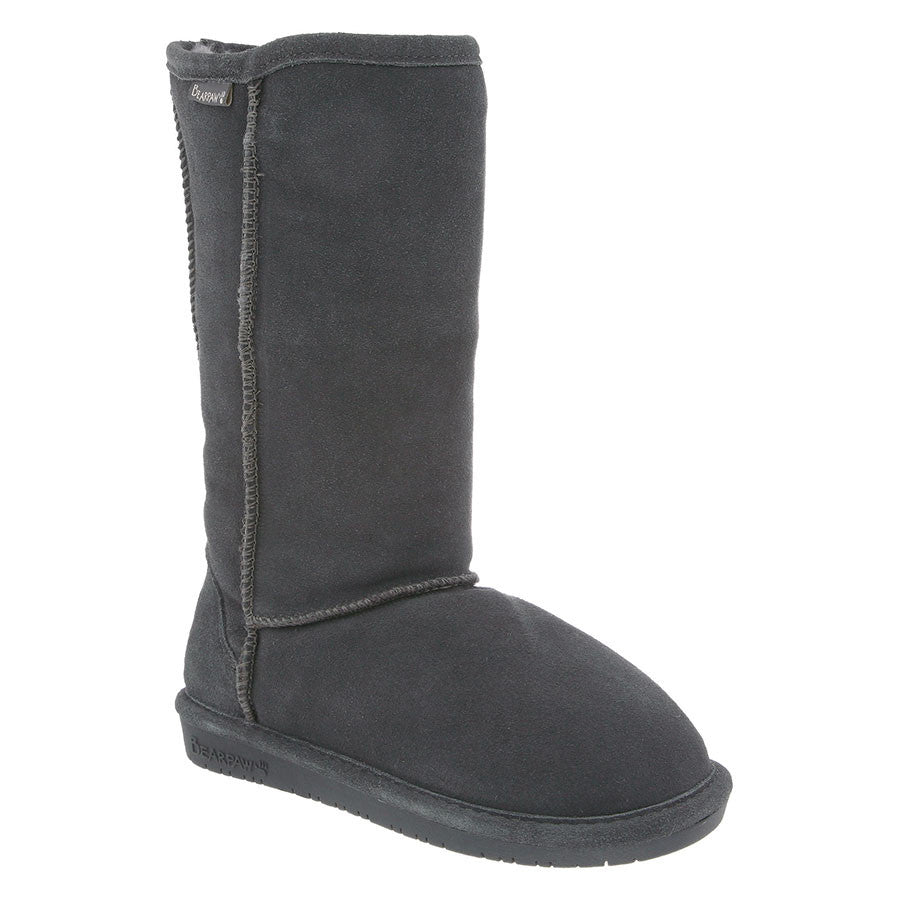 "Bearpaw Women's Emma 12"" - Charcoal - ShoeShackOnline"