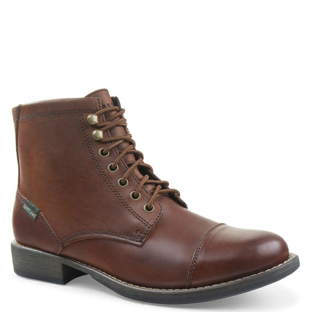 Eastland Men's High Fidelity Cap Toe Boot - Tan 7204 - ShoeShackOnline