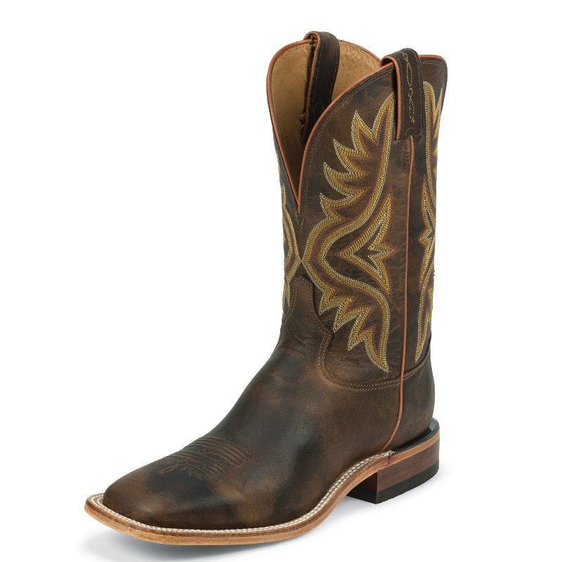Tony Lama Men's Worn Goat Americana Western Boots - Tan 7956 - ShoeShackOnline
