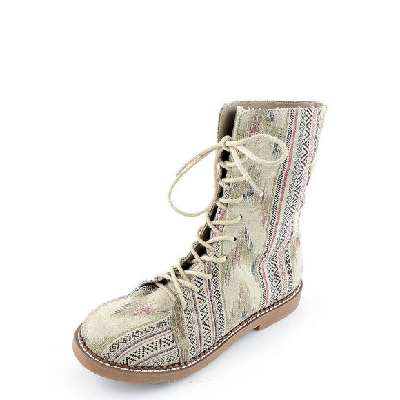 Corkys Women's Flower Child Boots - Tan 80-7050 - ShoeShackOnline