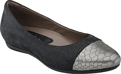 Earth Women's Hanover Ballet Flat - Black Printed Suede 801551WPRT