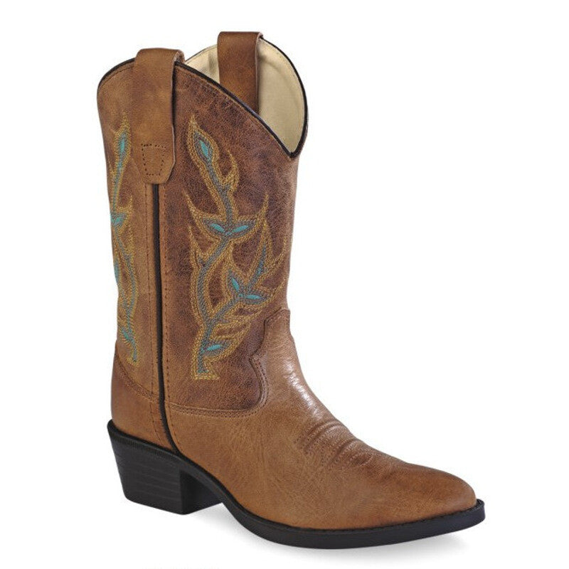 Old West Kid's Western Boots - Corona 8122
