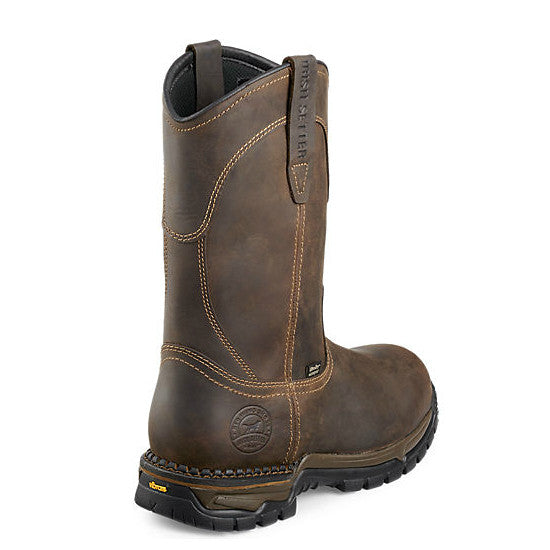 Irish Setter Men's Two Harbors WP Pull-On Work Boot - Brown 83907