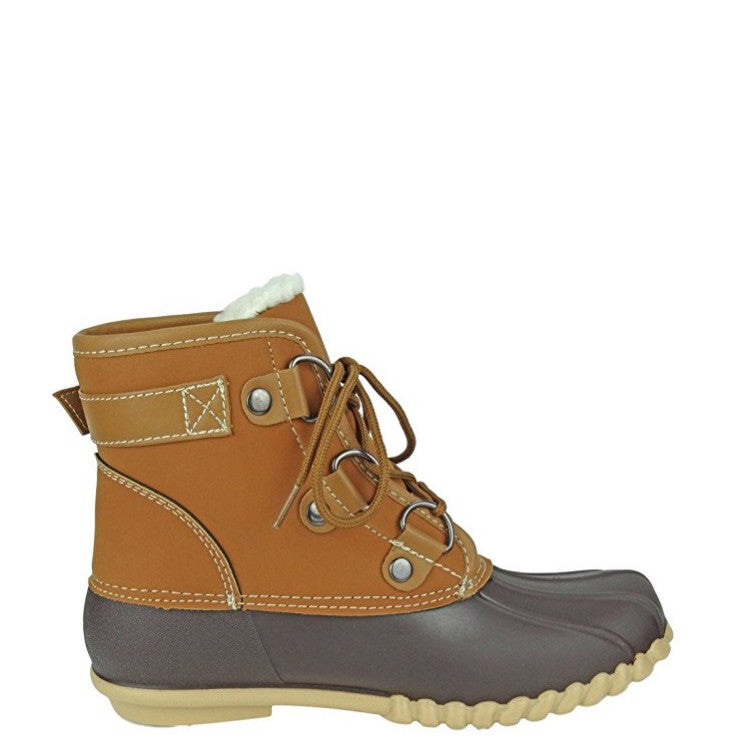 fed47bff1df Outwoods Women's Autumn-3 Lined Duck Boot - Brown 89948-170