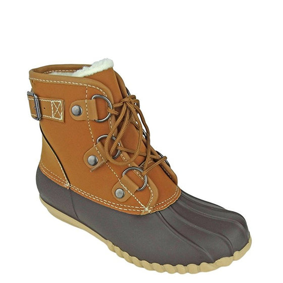 Outwoods Women's Autumn-3 Lined Duck Boot - Brown 89948-170 - ShoeShackOnline