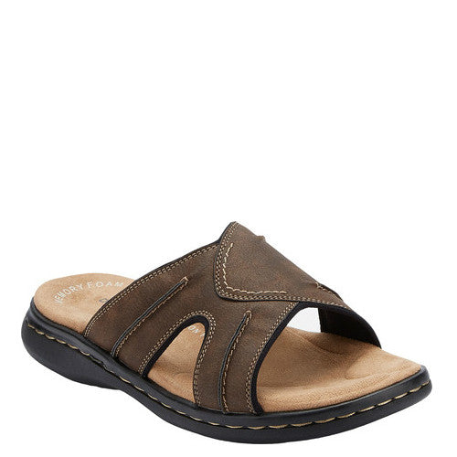 Dockers Men's Sunland Sandal - Dark Brown 90-21398 - ShoeShackOnline