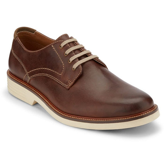 Dockers Men's Parkway Lace Up Shoe - Red Brown 90-36211 - ShoeShackOnline