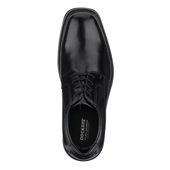 Dockers Men's Irving Lace Up Dress Oxford Shoe - Black 90-36984 - ShoeShackOnline