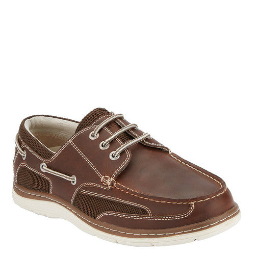 Dockers Men's Lakeport Boat Shoe - Dark Tan 90-37002 - ShoeShackOnline