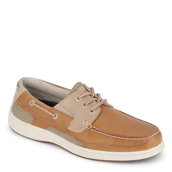 Dockers Men's Beacon Lace Up Boat Shoe - Tan/Stone 90-38612 - ShoeShackOnline
