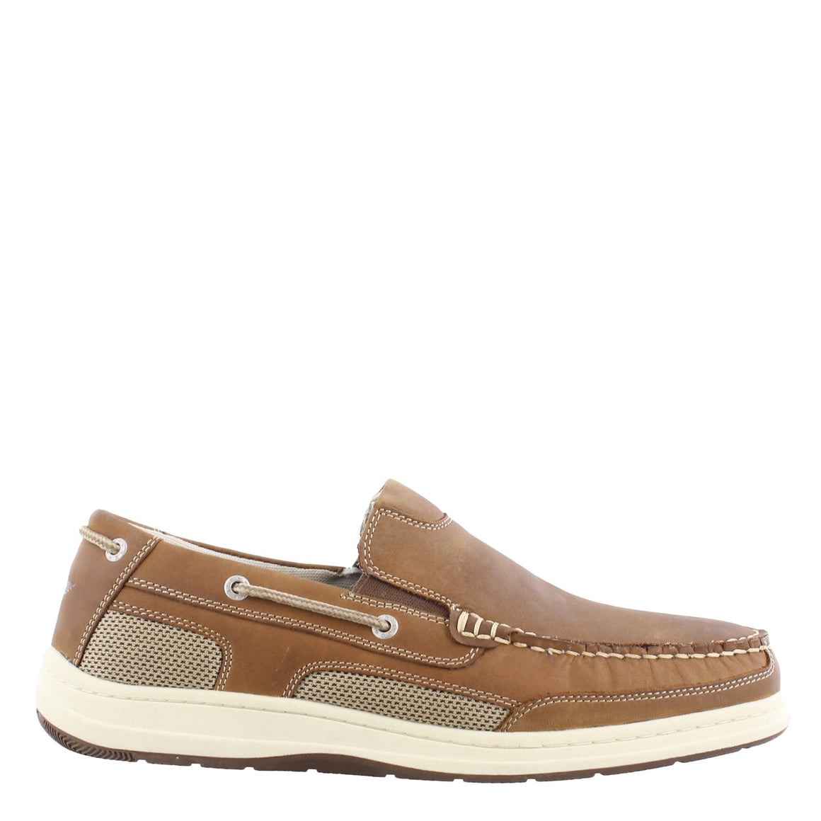 Dockers Men's Tiller Slip On Boat Shoe - Dark Tan 90-38623 - ShoeShackOnline