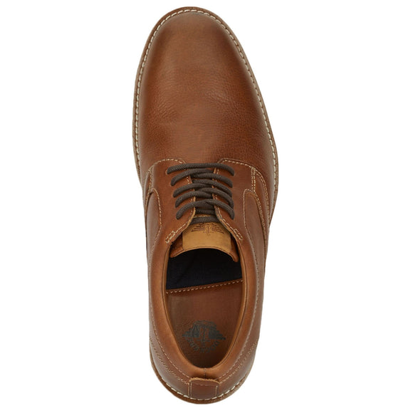Dockers Men's Nathan Dress Casual Oxford Shoe - Saddle Tan 90-42912 - ShoeShackOnline