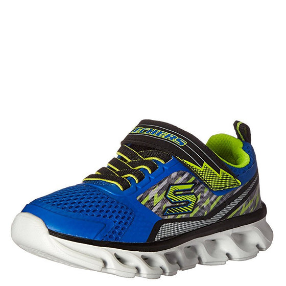 Skechers Boy's Toddler Hypno-Flash Tremblers - Blue/Lime 90581N