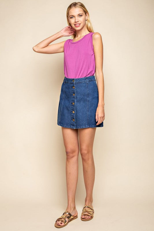 Mittoshop Women's Jean Skirt