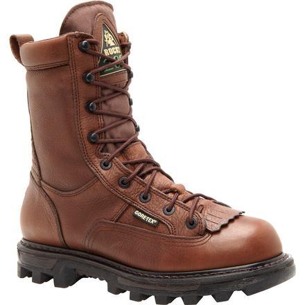 "Rocky Men's 9"" BearClaw3D Insulated Waterproof Work Boot - Brown FQ0009237"