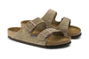 Birkenstock Arizona Soft Footbed - Taupe | Suede 951301