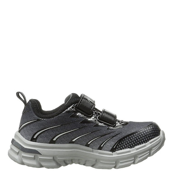 Skechers Boy's Nitrate Sneaker - Charcoal/Black 95340L